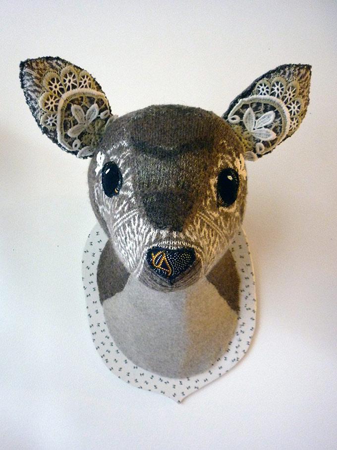 Artiste textile française CAM DUP - Camille Dupuis - Trophee