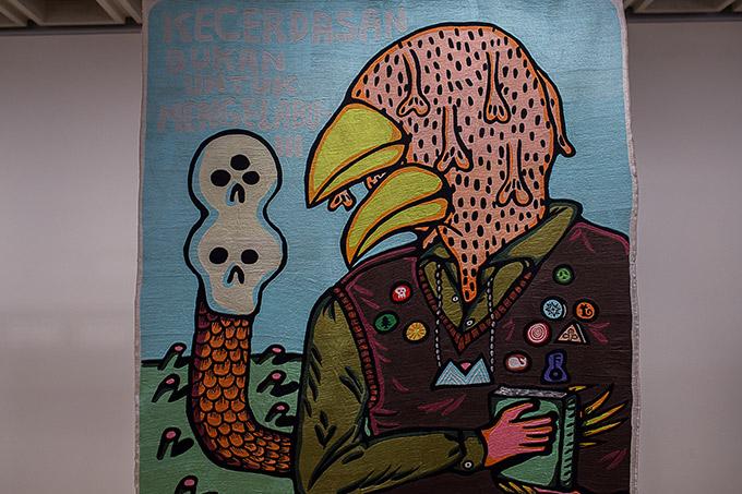 Artiste indonésien Eko Nugroho - Art gallery of NSW - art politique