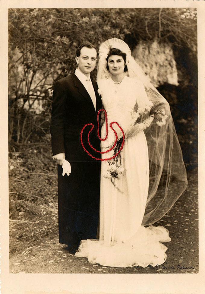 Memoires Vives de Corinne Rohard - photographies brodees sur Tricotine.com