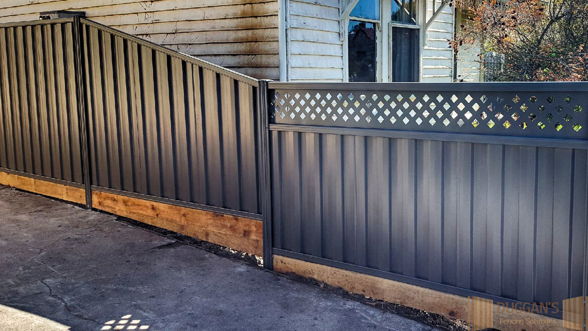 Colorbond Steel Fence