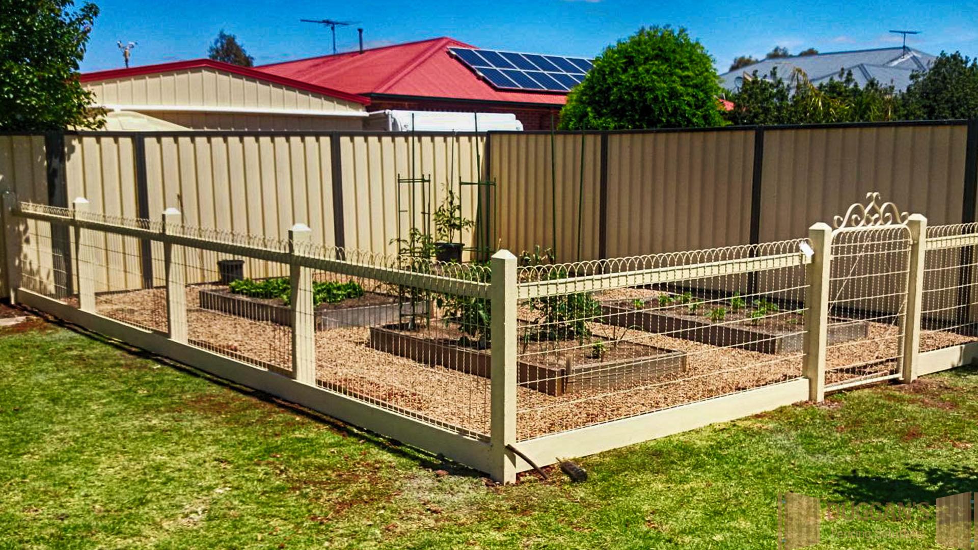 Emu Wire garden enclosure