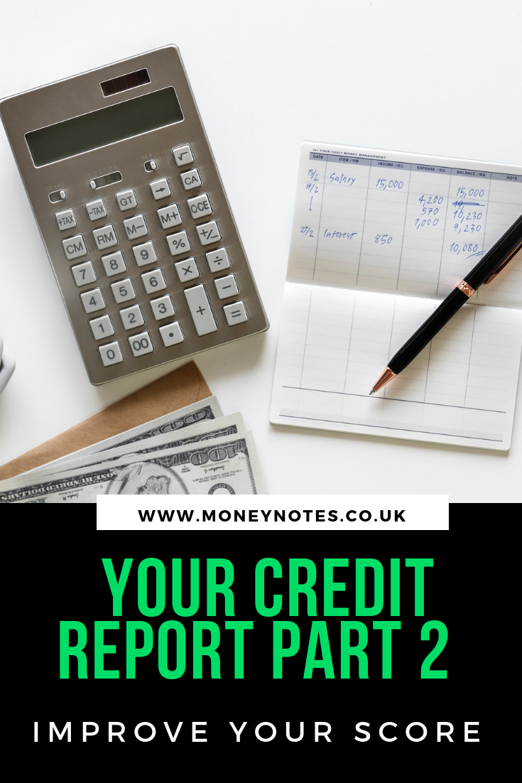 Your Credit Report Part 2 - Improve Your Score