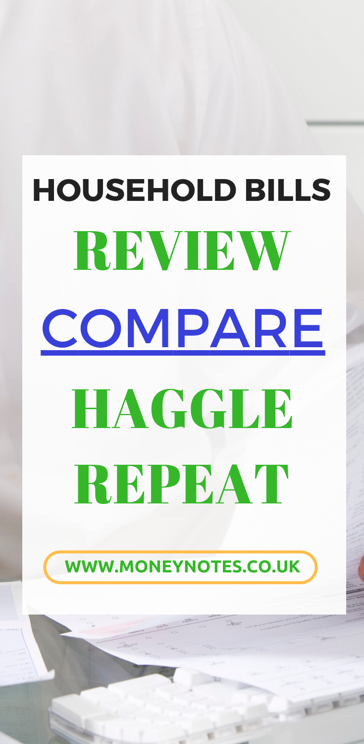 compare household bills