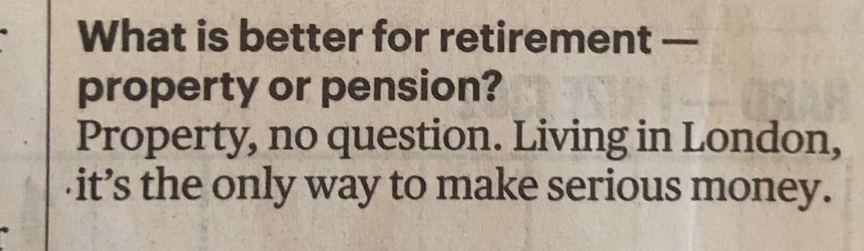 Property or Pension