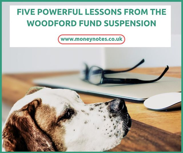 Most of us find the concept of investing quite complex and consequently are put off.  Especially when there's negative press around investing which has come in the shape of Woodford's fund suspension.  What does this all mean and how does it affect me? Check out my NEW BLOG if you want to learn more. Link in bio @moneynotesofficial  There are some key lessons to be learnt from the event and I set five out in the blog.  #investing #fund #longterm #financialeducation #educationnotdeprivation #emergencyfund #diversify