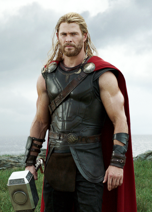 Chris Hemsworth as Thor in the Marvel films