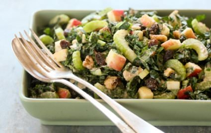 This easy kale salad recipe is sure to be a crowd pleaser!