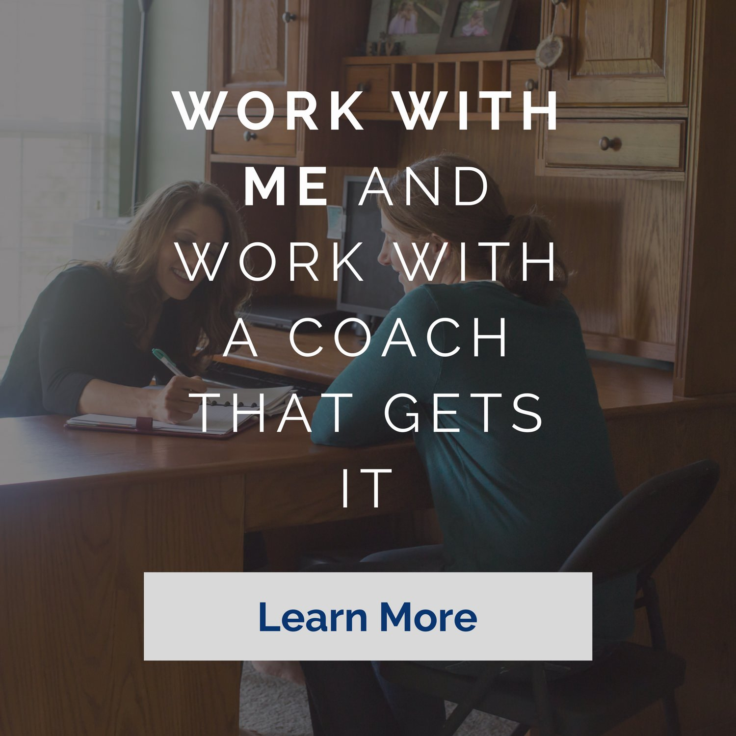 When you work with me, you work with a coach that gets it. I provide health and wellness coaching - both in person and online.
