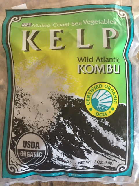 Give your quinoa a nutrient boost by cooking it with kombu! -