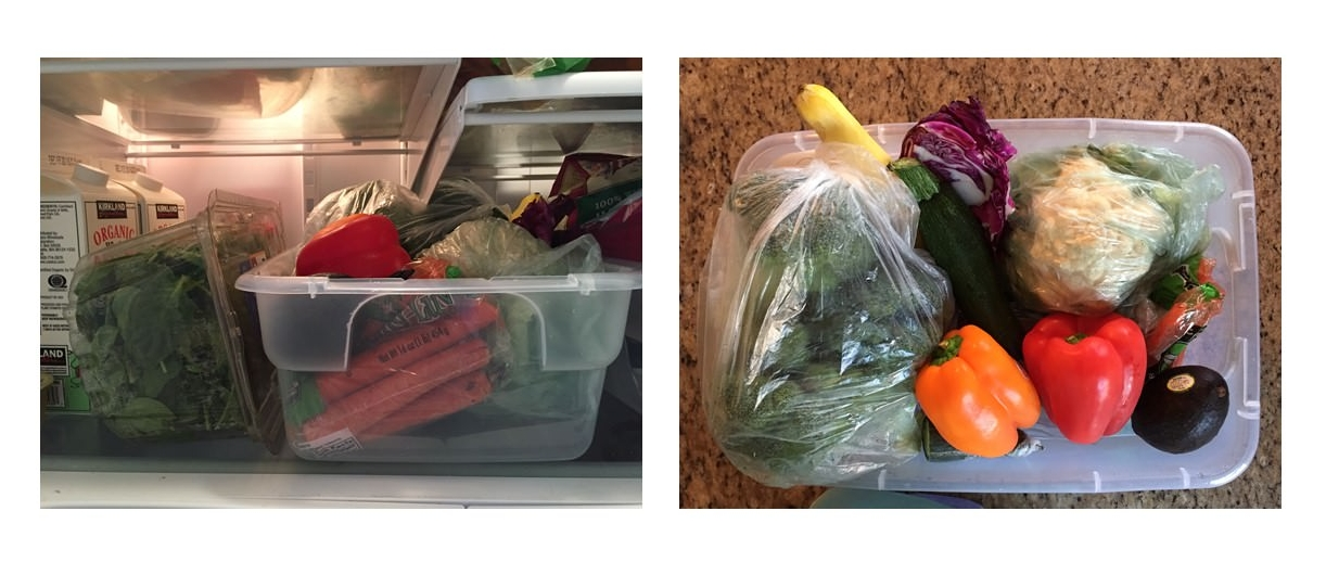 Here is an easy way to organize the vegetables in your refrigerator! Use this refrigerator organization tip so that you don't let your vegetables go to waste.