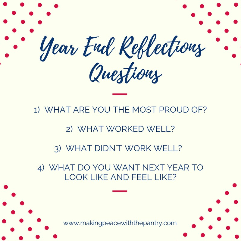 4 simple but powerful end of the year reflection questions