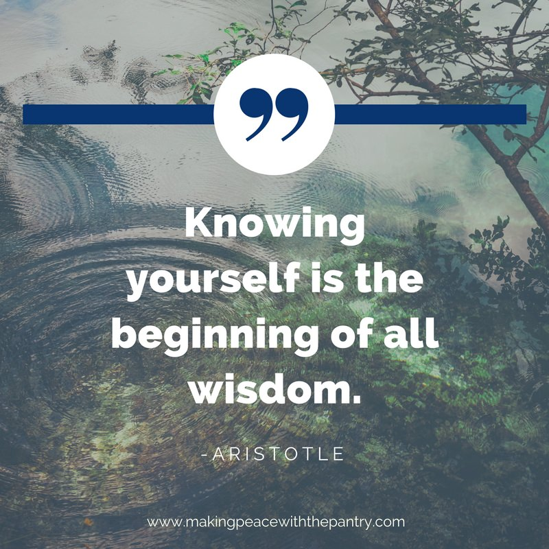 "Use the end of the year as an opportunity to engage in invest in your own self-growth and evolution. In the words of Aristotle, ""Knowing yourself is the beginning of all wisdom."""