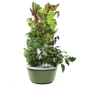 Tower Garden will help make growing your own produce easier and more convenient.
