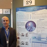Michael with our Bronze Medal award-winning poster at the UCD School of Medicine