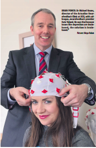 Michael and Kate on the Irish Examiner
