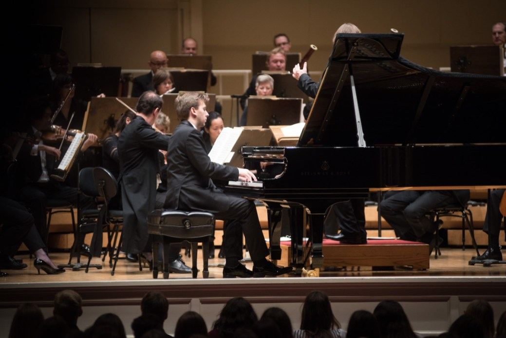 Soloist with the Paderewski Symphony Orchestra at Symphony Center in Chicago.