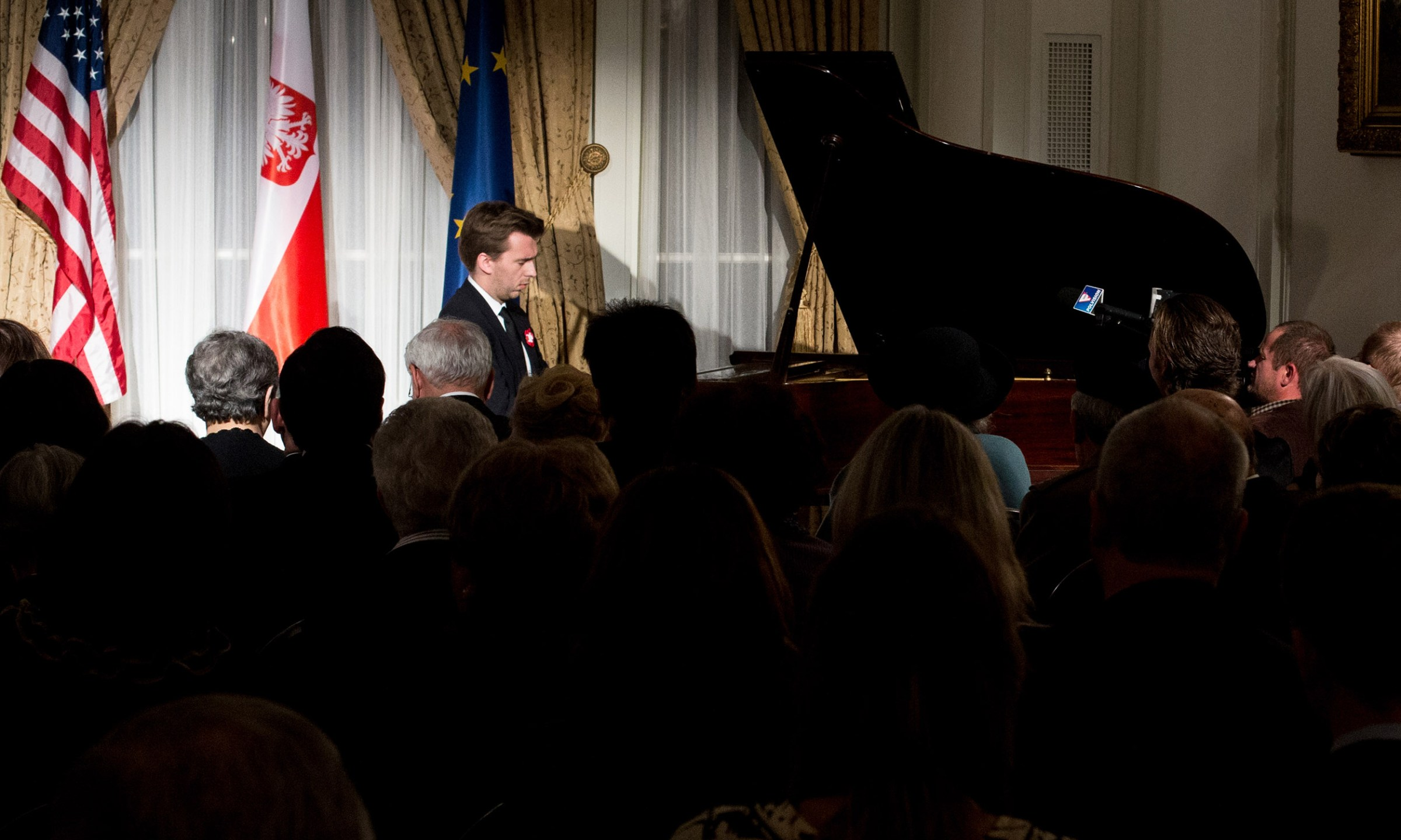 Recital at the Consulate General of the Republic of Poland in Chicago.