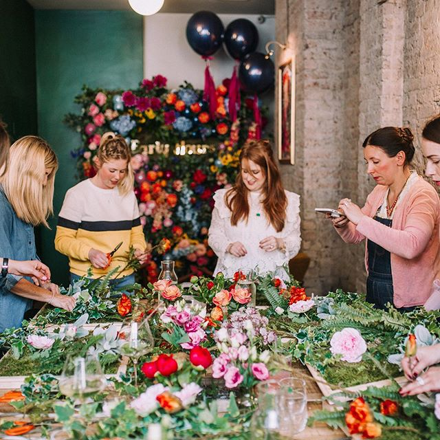 If you're looking for that perfect intimate space to hold an event then drop us an email to see what we can do for you.  Check out the pics from a floral workshop that @earlyhoursltd hosted at the cafe. - - - - - - #workshop #eventspace #privatehire #igerslondon #southlondoneateries #summer #summerinlondon #citysummer #sunshine #discoverlondon #events #eventplanner #londoncafe #londonbar #floralcafe #flowerstagram #privateparty #partyideas #southlondon #londoncoffeeshops