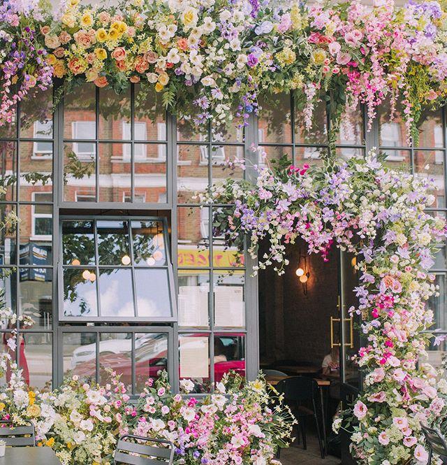 We're feeling summery even if Mother Nature doesn't always deliver.  @earlyhoursltd have pimped us up for the summer 🙌🌸🌼🌸🌼 - - - - #brunch #londonbrunch #londonbreakfast #foodie #londondoodie #nomnom #foodporn #londoncafe #coffee #londoncoffeeshop #homemade #healthy #veggiebreakfast #vegetarian #instafood #instagood #instadaily #se23 #honoroakpark #southlondon #southlondoneateries #flowerstagram #londoncoffeeshop #shopfrontdisplay #southlondon #southlondoneateries #summer #summerinlondon #citysummer #sunshine #floralfacade #igerslondon #discoverlondon