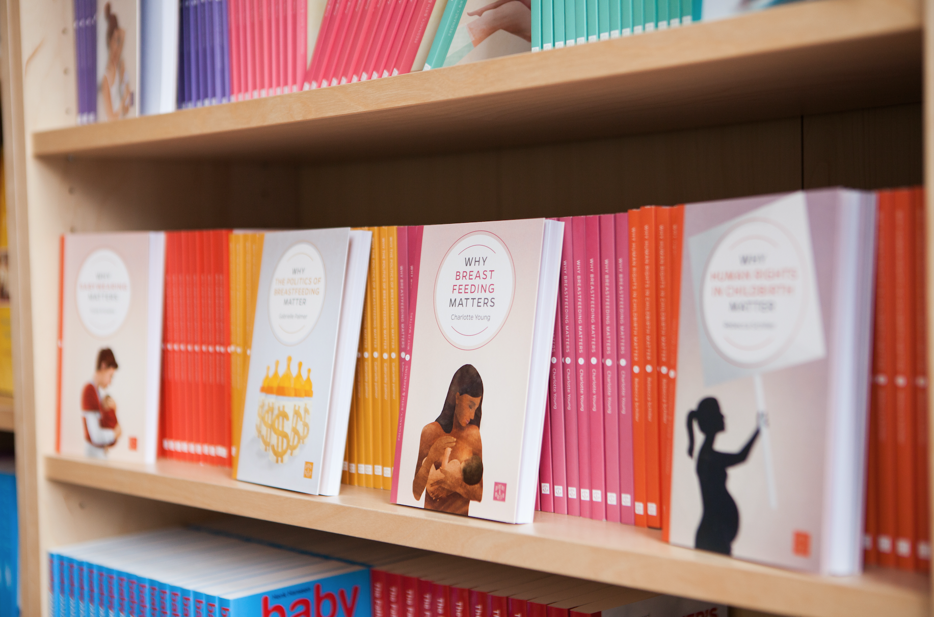 Book Launches - Our founder, Pinter & Martin, often host book launches and other pregnancy, birth and parenting-related events. Find out more here.