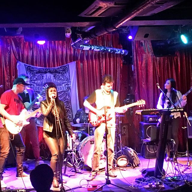 Rocking at the famous Cherry Bar on AC/DC lane with a full house! #acdclane #cherrybar #melbournelivemusic #melbournelivemusicscene #livemusic #robotoverlords #electronicrock #liveshow