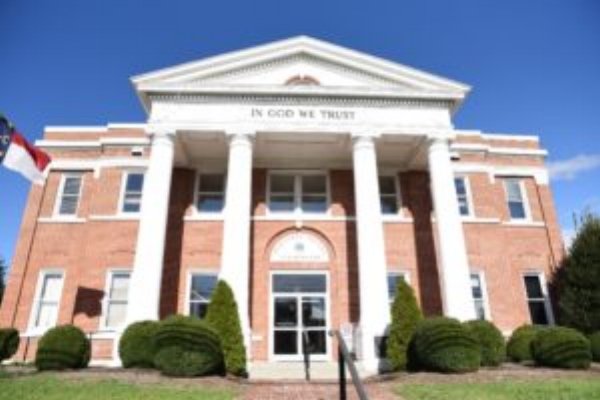 Alleghany County Courthouse in Sparta, N.C.