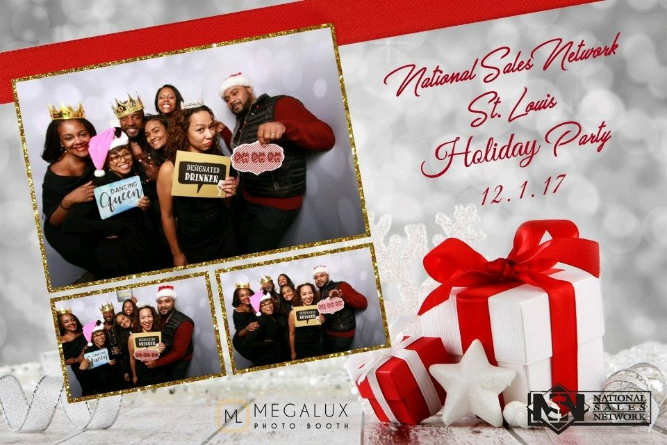 We Run The Lou! crew members support the  National Sales Network St. Louis Chapter's  2017 Holiday Party and Toy Drive.