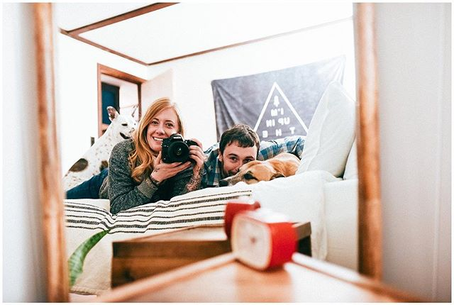 We absolutely love this picture of @photocait and her little fam hanging out at Vienna Lodge! Cait blogged about her stay today - click the link in her bio to read it and see all the beautiful pictures she took! —  @photocait ☺️❤️ . . . #visitnh #airbnb #dogfriendlyairbnb #dogfriendlyvacation #viennalodge