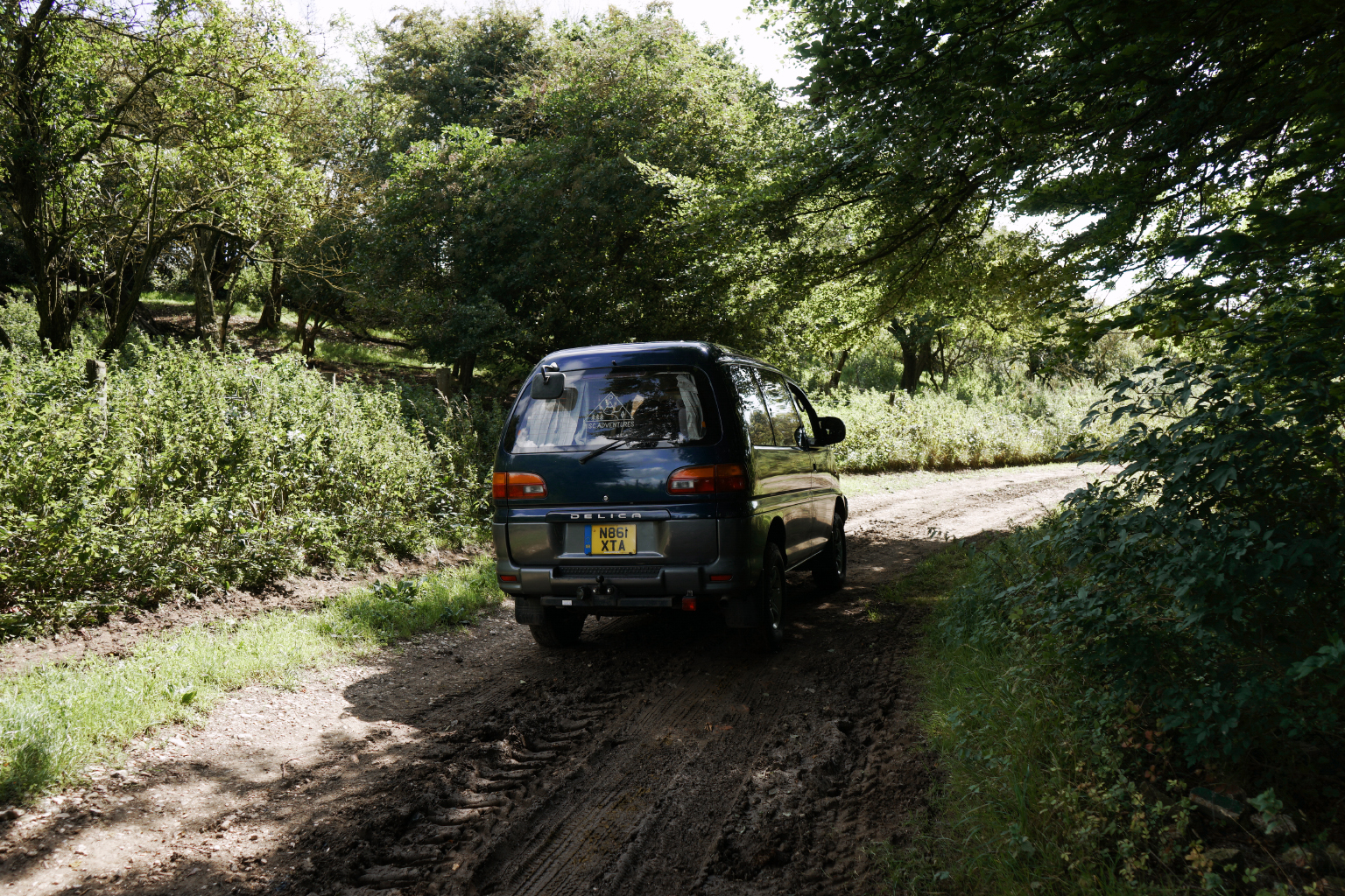 Little bit of off-roading to test it all works...