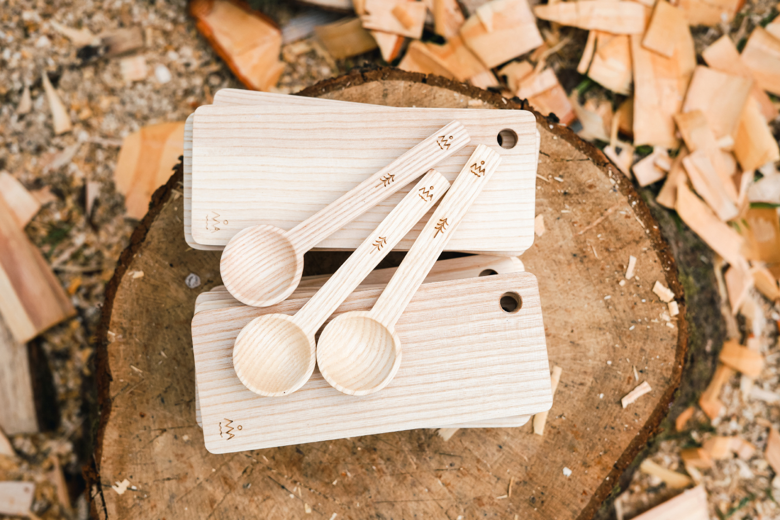 Terra Firma Chopping Boards  and Ash Scoops