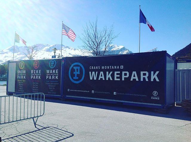 J-7 ouverture du Crans Montana WakePark  Mercredi 29 mai à 15h