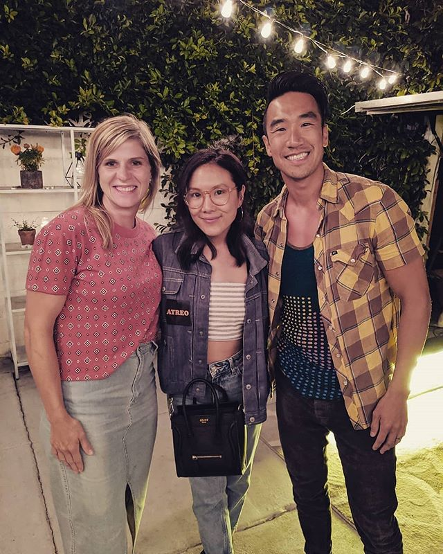 ♥️♥️♥️ Reposted from @danhuie :  Noele and I met the wonderfully talented, kind and funny actress @allymaki She's the voice of Giggles McDimples in ToyStory4 and is an inspiration for our daughters to chase their dreams. Love seeing an Asian American Girl kicking down doors in Hollywood.  @asianamericangirlclub #asian #hollywood #toystory #actress