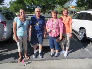 Amanda, Jerry, Wendy and Gloria