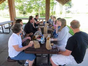 Lunch in Kaysville