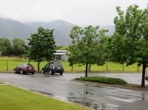 Rain in Kaysville