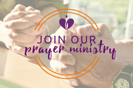 You can help provide encouragement through prayer!  CLICK TO JOIN .
