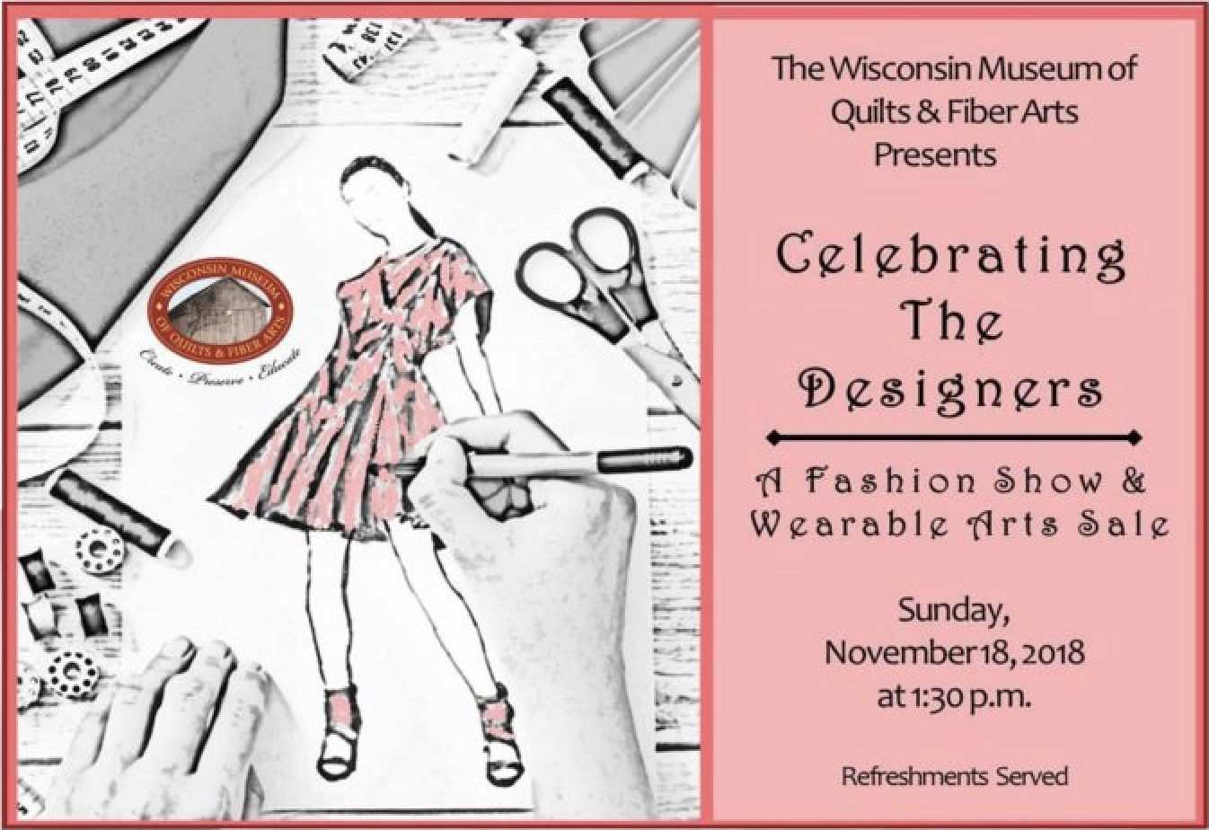 WMQFA-Cedarburg-Wisconsin-Museum-Quilts-Fiber-Arts-Fashion-Show-Art-Shop