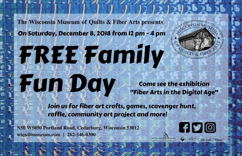 WMQFA-Free-Family-Fun-Days-Winter-2018-Wisconsin-Cedarburg-Museum-Event