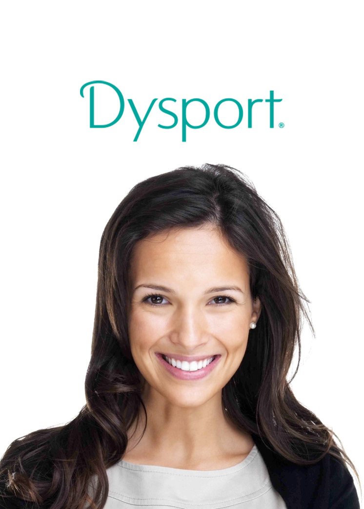 Dysport - A prescription injection that temporarily treats the facial muscles in just the desired area- so frown lines are minimized, not expressions.