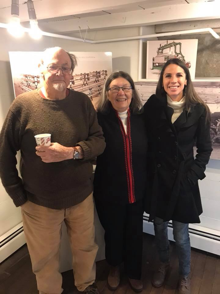 Crowell Freeman, Kathy Stevens and State Representative Diane DiZoglio at the 2017 Holiday Open House. Photo by Diane DiZoglio.