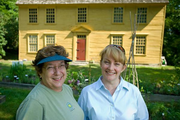 North Andover Garden Club at the Parson Barnard House.