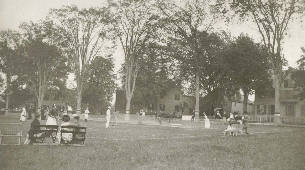 North Andover Common in the 1920s