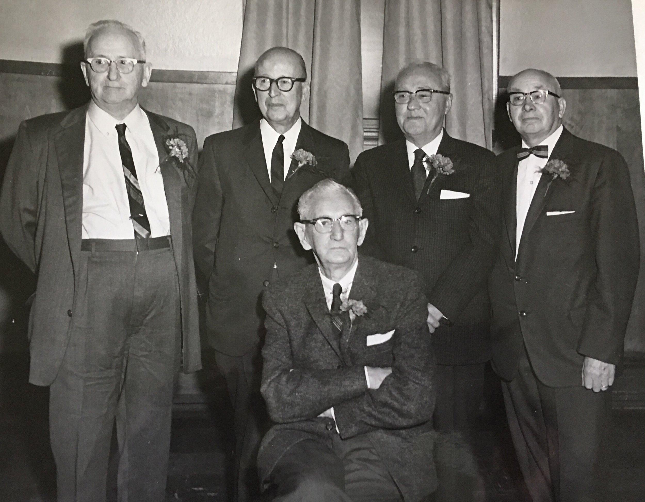 D & F 50 year club with Robert C. Stewart.jpg