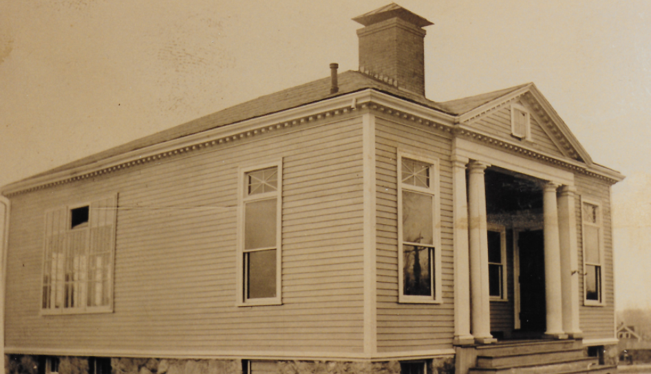 New Franklin School on Park Street, built in 1905.Today this building is used by the VFW Post 2104.