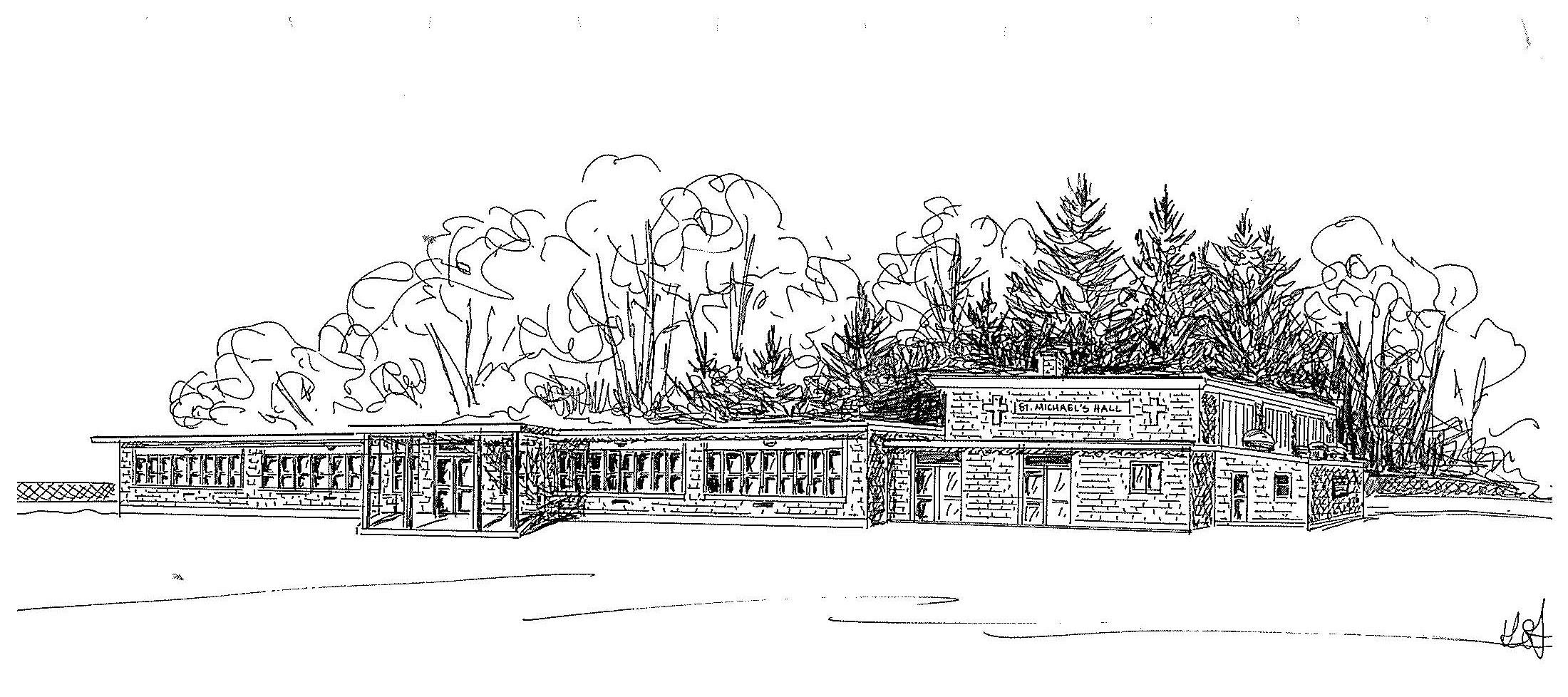 Sketch of old school in 1956 Maple Avenue.jpg