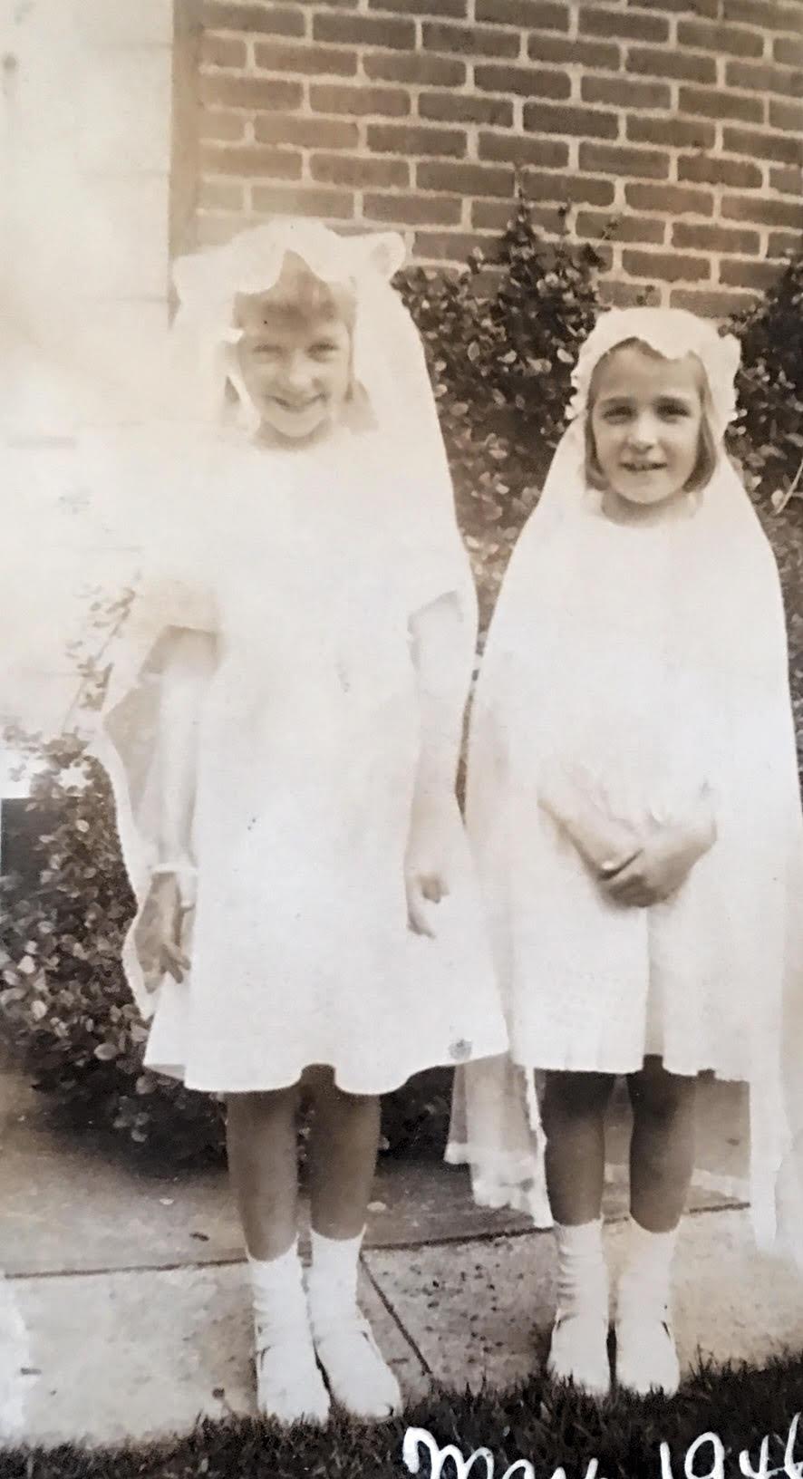Ma and friend Carol King lived on Church St.jpg