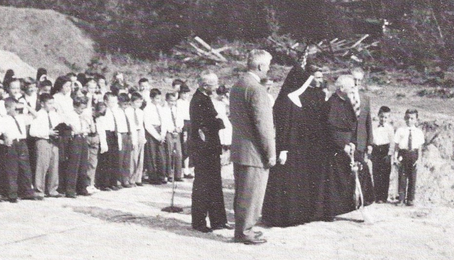 St Michael School's Dedication 1955.jpg