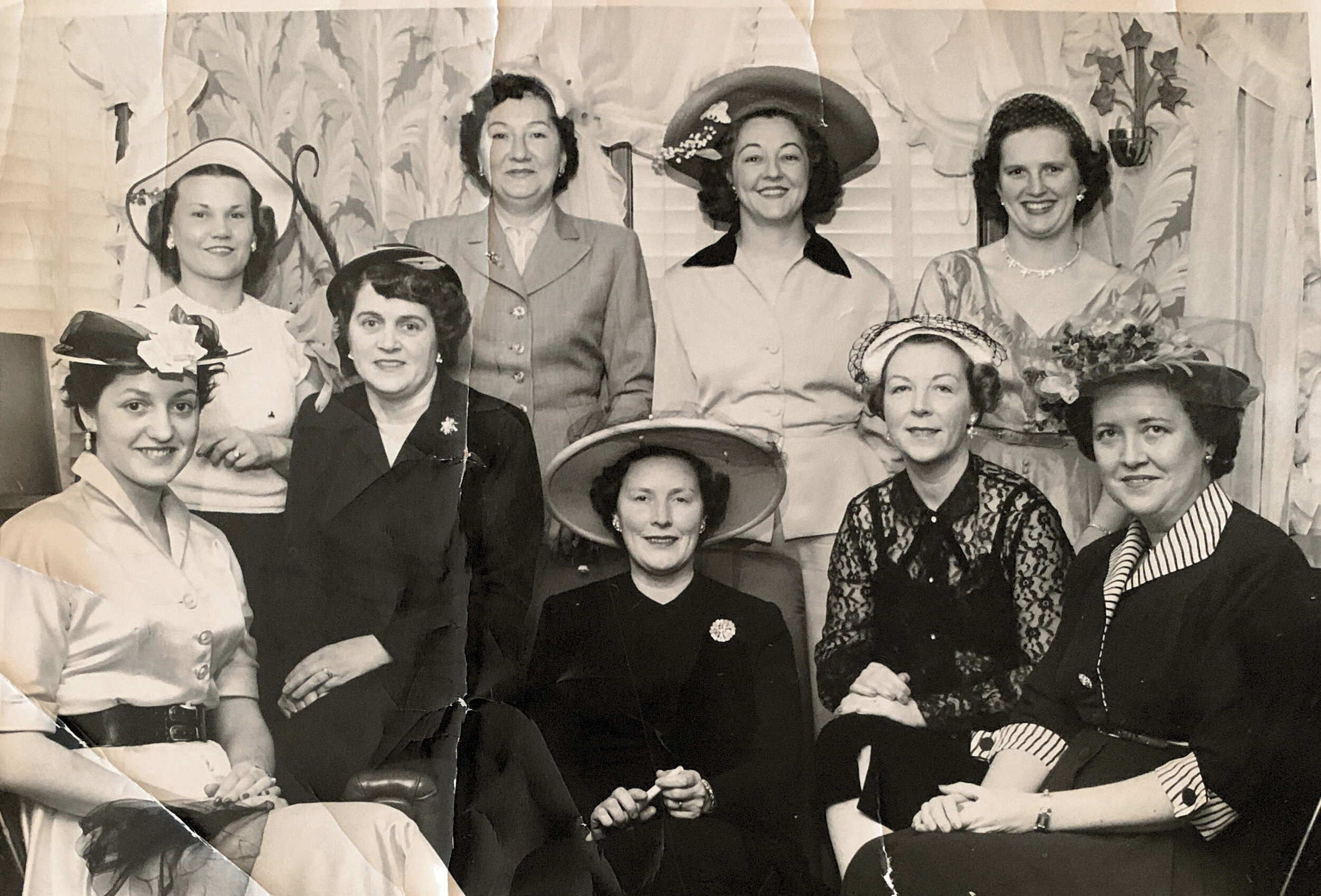 Fashion Show fundraiser for sms early 1950s.jpg