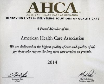 Meadowood Nursing Center Member of the American Health Care Association