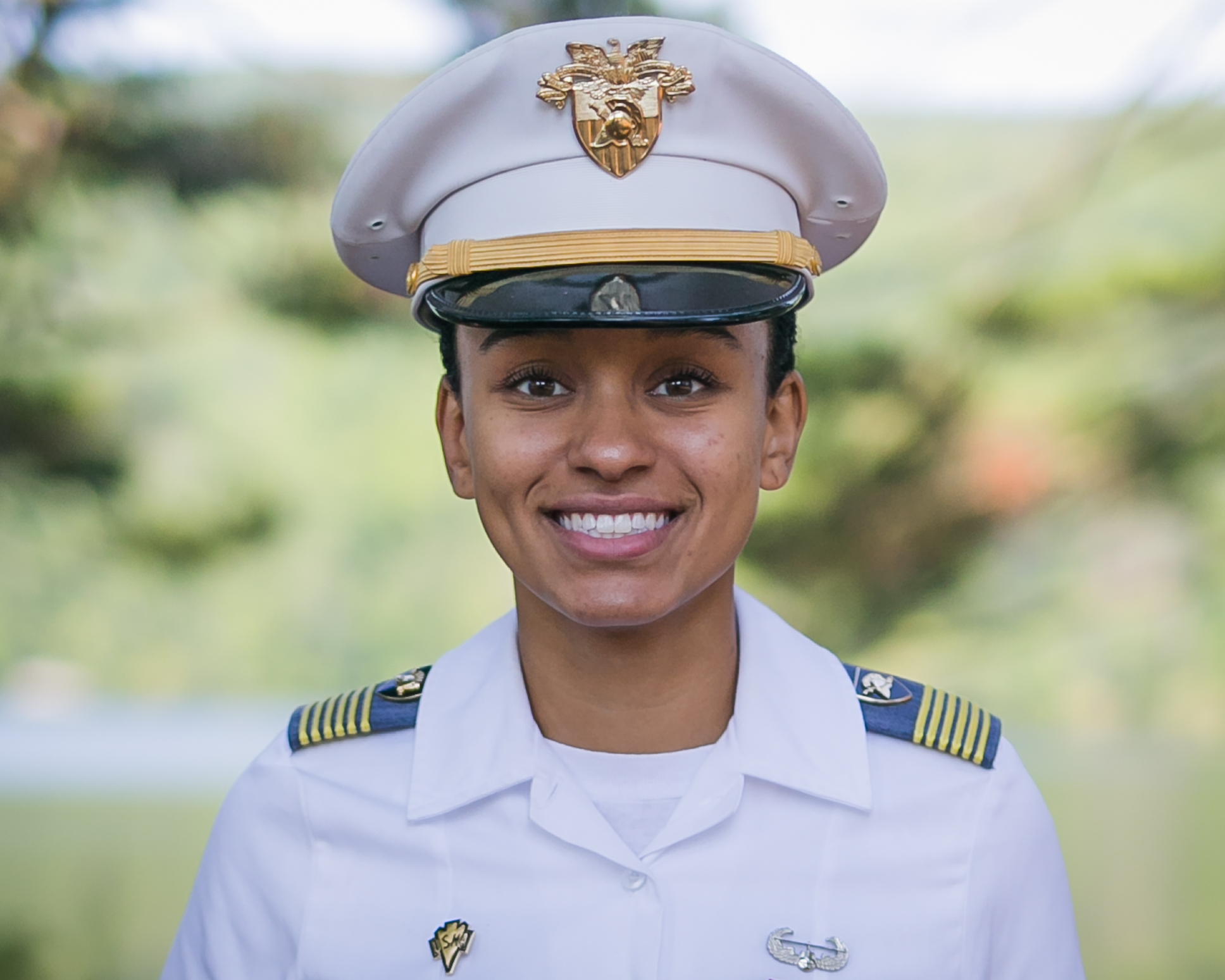 10 SIMONE ASKEW - is first black woman to serve as West Point's first Captain